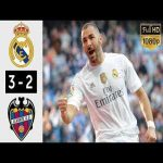 Real Madrid vs Levante 3 2 Highlights & Goals Hazard debut