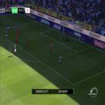 Koji Miyoshi (Antwerp) goal vs Anderlecht