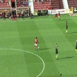 Well worked third goal by Swindon vs Macclesfield last Saturday