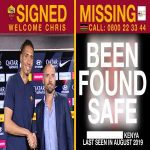 A fourth missing child has been found! AS Roma have today been informed by Missing child Kenya that an 8-year-old Kenyan girl featured in the Chris Smalling transfer announcement video has been found safe. On Sunday, another Kenyan child, a 13-year-old boy was also found safe.