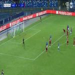 Napoli 1-0 Liverpool - Mertens 82' (PK)