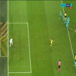 Ter Stegen off his line while saving Reus's penalty