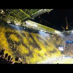 Confetti Choreo - BVB vs Barca