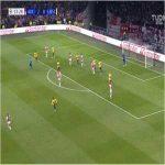 Sergiño Dest (Ajax) roulette turn against Lille
