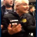 Roda JC fans force the new club owner out of the stadium at half time