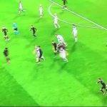 Atletico's squad tracking back