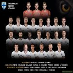 Finnish NT Squad against Bosnia & Herzgovina and Armenia