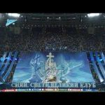 Orchestra from Mikhailovskiy theatre performed the Champions League anthem live at Zenit - Benfica game