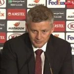 """""""It's a good point away from home - they beat Feyenoord 3-0."""" Ole Gunnar Solskjaer was pleased with Manchester United's performance as they drew 0-0 at AZ Alkmaar in the Europa League without recording a shot on target."""