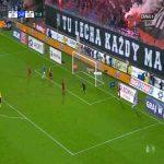 Lech Poznań [3]:0 Wisła Kraków - Kamil Jóźwiak 77'
