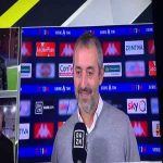 "Reporter asks Giampaolo about the poor game-management by Milan when they were playing vs a 10 men Genoa and he replies: ""We were under a man, right?"" and proceeds on getting corrected that it was Genoa and not Milan."