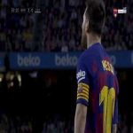 Messi great run vs sevilla