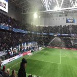 "Djurgården fans singing ""Hey Jude"" before yesterdays derby in Sweden"
