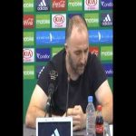 """Algeria coach Djamel Belmadi: """"I won't say names, but I spoke with one of my players, and he is an important player, who told told me how they trained at his club. It's a big club. I was shocked, this is amateurism."""""""