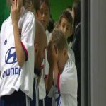 Saint-Etienne keeper Jessy Moulin had to console his son before they walked out on the pitch together, he was upset because he had to wear the shirt of their rivals, Lyon. (video)