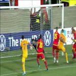 Josep Gómes (Andorra) nice save vs. Moldova