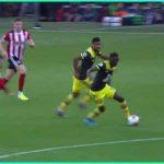 Moussa Djenepo wins Premier League September Goal of the Month