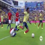 Colombia vs Chile - Cuadrado penalty non-call