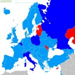 Dark Blue = Qualified     Light Blue - Can still qualify by qualifying group or playoff     Red - Can't qualify