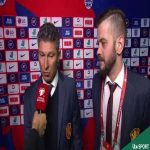 Full ITV interview with Bulgaria coach. Denies hearing the racist chants, and says England fans were being just as bad as the Bulgarian fans...!
