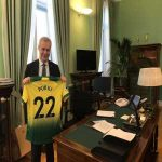 Norwich City sent a message to Finnish PM on the day of crucial game against Armenia