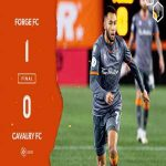 Forge FC end the CanPL regular season with a 1-0 win. Next stop The Finals.