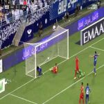 Al-Hilal [2] - 0 Damac — Bafetimbi Gomis 55' — (Saudi Pro League)