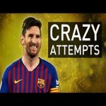 Best Messi attempts which did not result in a goal