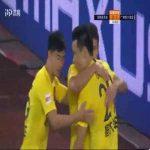 Elkeson (Guangzhou Evergrande) 1st goal vs Shenzhen
