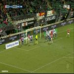 AZ Alkmaar [1] - 1 SC Heerenveen - Ron Vlaar 31'
