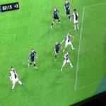 Bologna penalty appeal vs Juventus