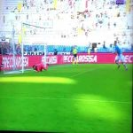 Ciro Immobile tries to celebrate