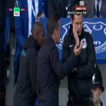 Everton - West Ham United Mina disallowed goal