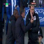 Everton - West Ham United Mina disallowed goal