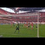Nycole scores the 1st goal in the first ever official Lisboa Derby between Benfica and Sporting