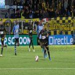 Othmane Boussaid dribbles vs FC Eindhoven