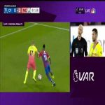 VAR rules no penalty (Crystal Palace vs Man City)