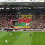 """St. Pauli fans, who wanted Cenk Sahin te be released for a """"politic"""" post, supported YPG by doing this choreography"""