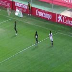 Fantastic backheel goal by Karpova for Sevilla against Espanyol