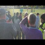 Video footage of racist Yeovil fans, during the Haringey Borough vs Yeovil FC game. Which led to Team walking out.
