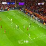 Thibaut Courtois save vs Galatasaray