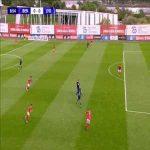 Benfica U19 0 - [1] Olympique Lyonnais U19 - Rayan Cherki 9'