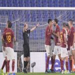 [AS Roma on Twitter] #ASRoma's management spoke to the match officials after the game and they admitted that the decision to award the penalty was a mistake. We respect and thank them for their genuine honesty and now we focus on the next game. #ForzaRoma