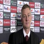 """Ole - """"I'm not happy with our defending from the front, I thought that was non-existent 2nd half. We don't want to be a team that just defends inside our box"""""""