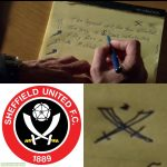 In National Treasure (2004), actor Sean Bean hid a reference to his favourite football team, Sheffield United FC.