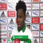 Jeremie Frimpong's refreshingly excited and amusing post-match interview