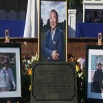 Leicester City open a memorial garden for those who died in the helicopter crash