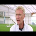 Pressing masterclass with David Moyes-Pressing from the front