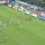 Shunsuke Nakamura (Yokohama FC) nice goal vs Tokyo Verdy