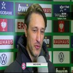 """Kovac (Bayern coach) after their win in the DFB Pokal against Bochum: """"Frankfurt have the best fans in the Bundesliga."""""""